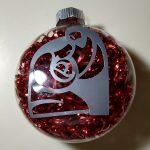Nativity Filled Bulb Ornament
