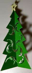 Tree Paper 3D Ornaments
