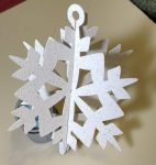 Simple Paper 3D Ornaments