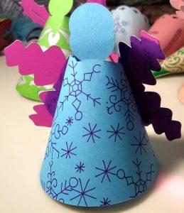 Snowflake Paper Angel