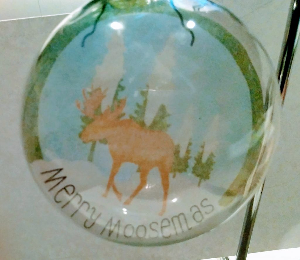 Moose Floating Ornament