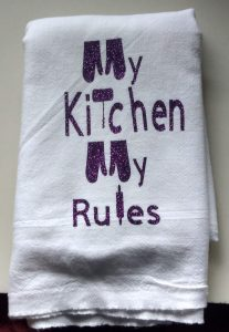 Kitchen Rules towel