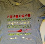 Christmas Harry Potter shirts for Cordelia