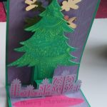 Open Christmas Pulley Card