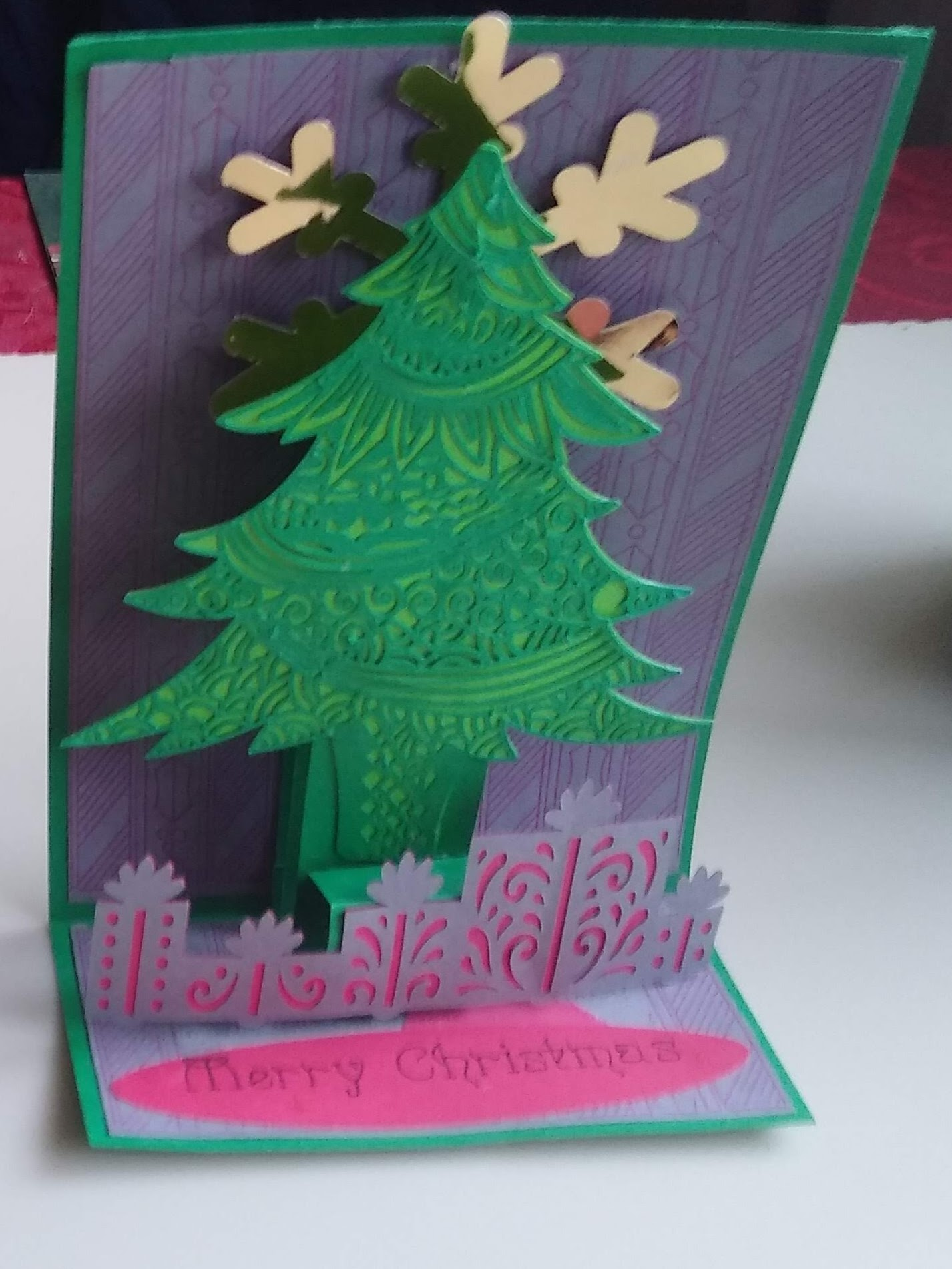 This Christmas Pulley Card is Amazing