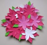 A Beginners First Project: Poinsettia Wreath