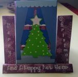 Christmas Window Ledge Card