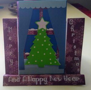 Christmas Window Ledge Card