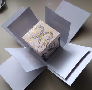 third layer of the box
