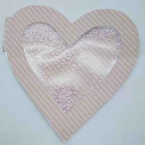Full Sized Shaker Heart Card Front