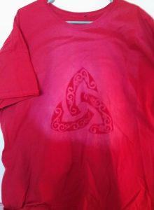 Fancy Triquetra Bleach Shirt