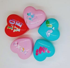 More Small Heart Treat Boxes