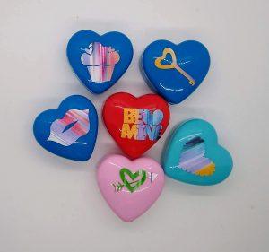 Small Heart Treat Boxes