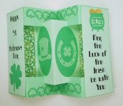 St. Patrick's Day Concertina Card