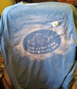 Bleach Shirt Yoda