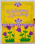 Spring Dutch Door Card