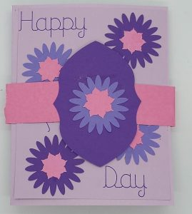 Accordion Card for Mother's Day