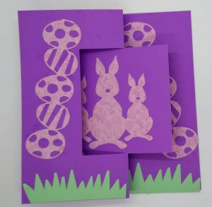 Easter Flip Card closed