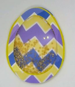 Another chevron easter shaker