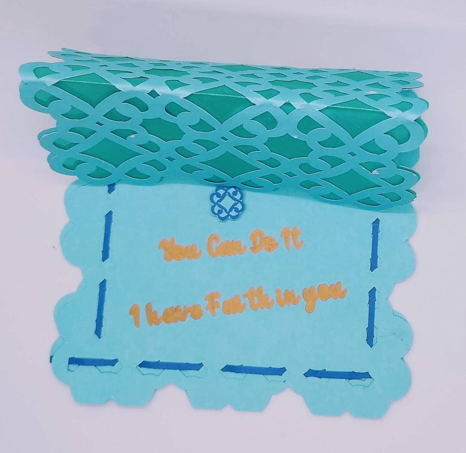 Celtic Knot Encouragement Card