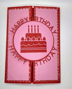 Happy Birthday Circle Card