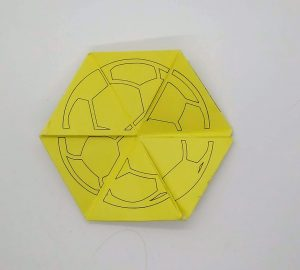 Side 2 of toy from sports toy Make a Triflexahexagon