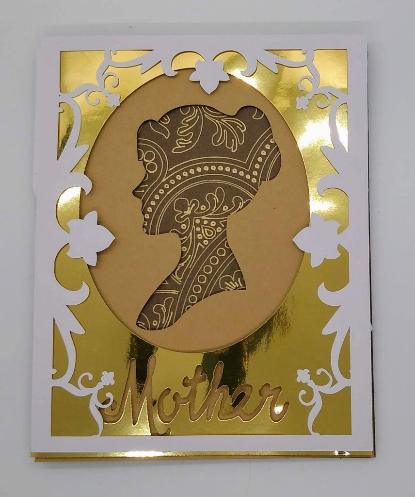 Mother's Day Shadowbox Card