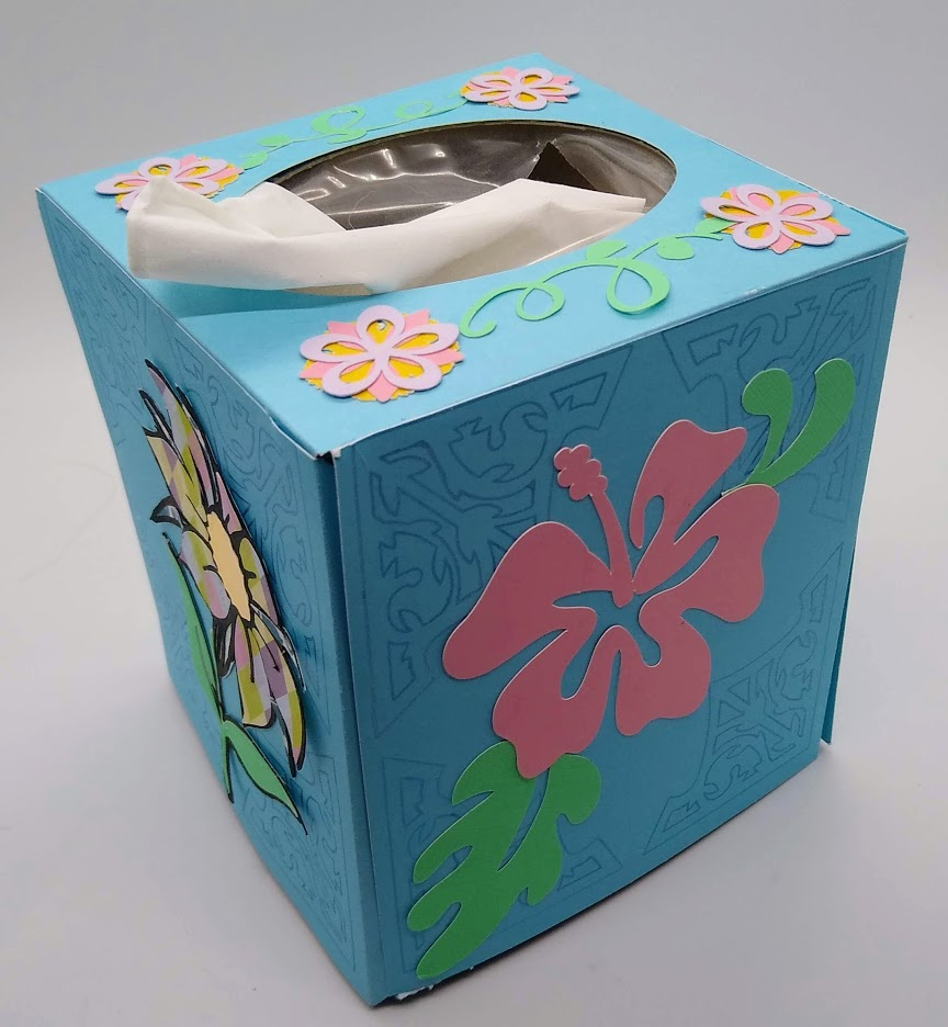 Spring Tissue Box Cover to Make