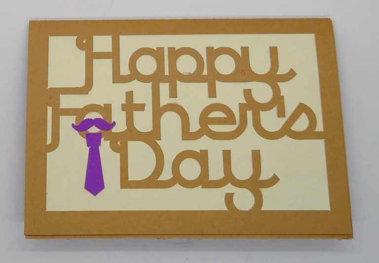 Front of Father's Day Humorous Card