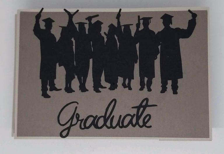 closed Graduation wiper card
