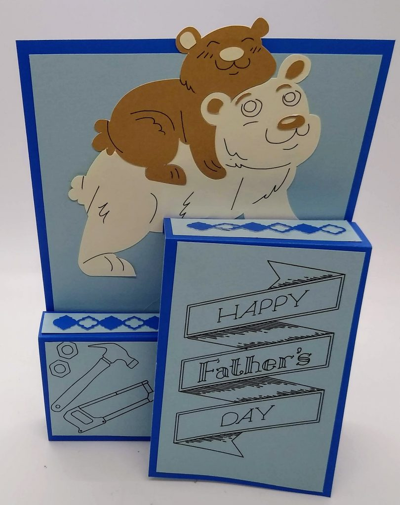 Papa Bear card for Father's Day