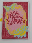 Pop Out thank you card front
