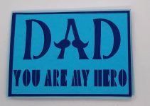 Super Dad Father's Day Card Front