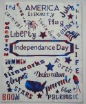 4th of July Messy Canvas