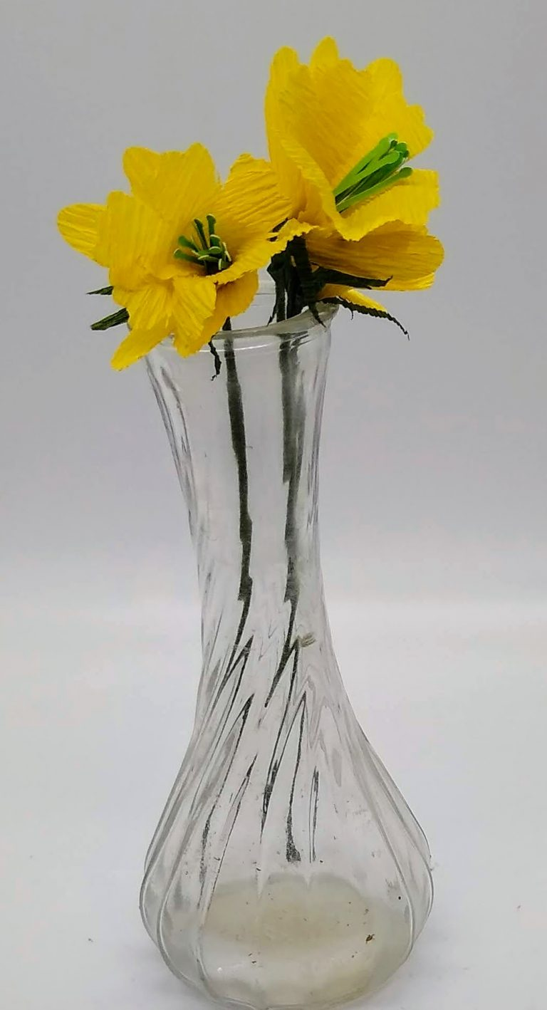 bouquet of paper daffodil
