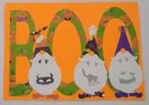 Gnomes are Back!  Make This Halloween Gnome Card