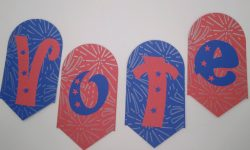 Voting Banner Decoration to Make