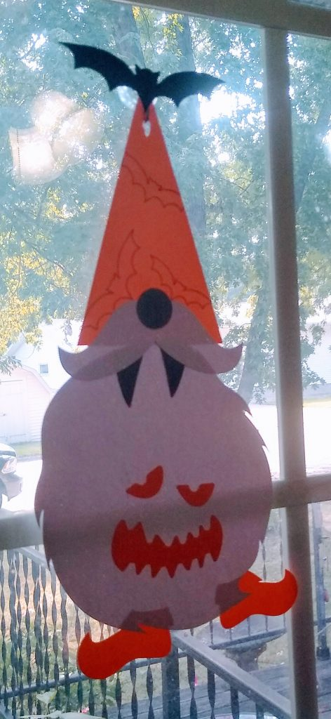 Halloween Gnome wall hangings - Gnome 1