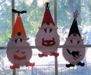 Make Halloween Gnomes Wall Decorations