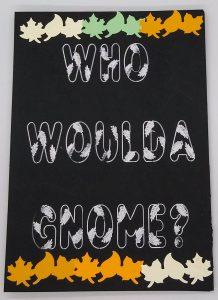 Female Gnome Card