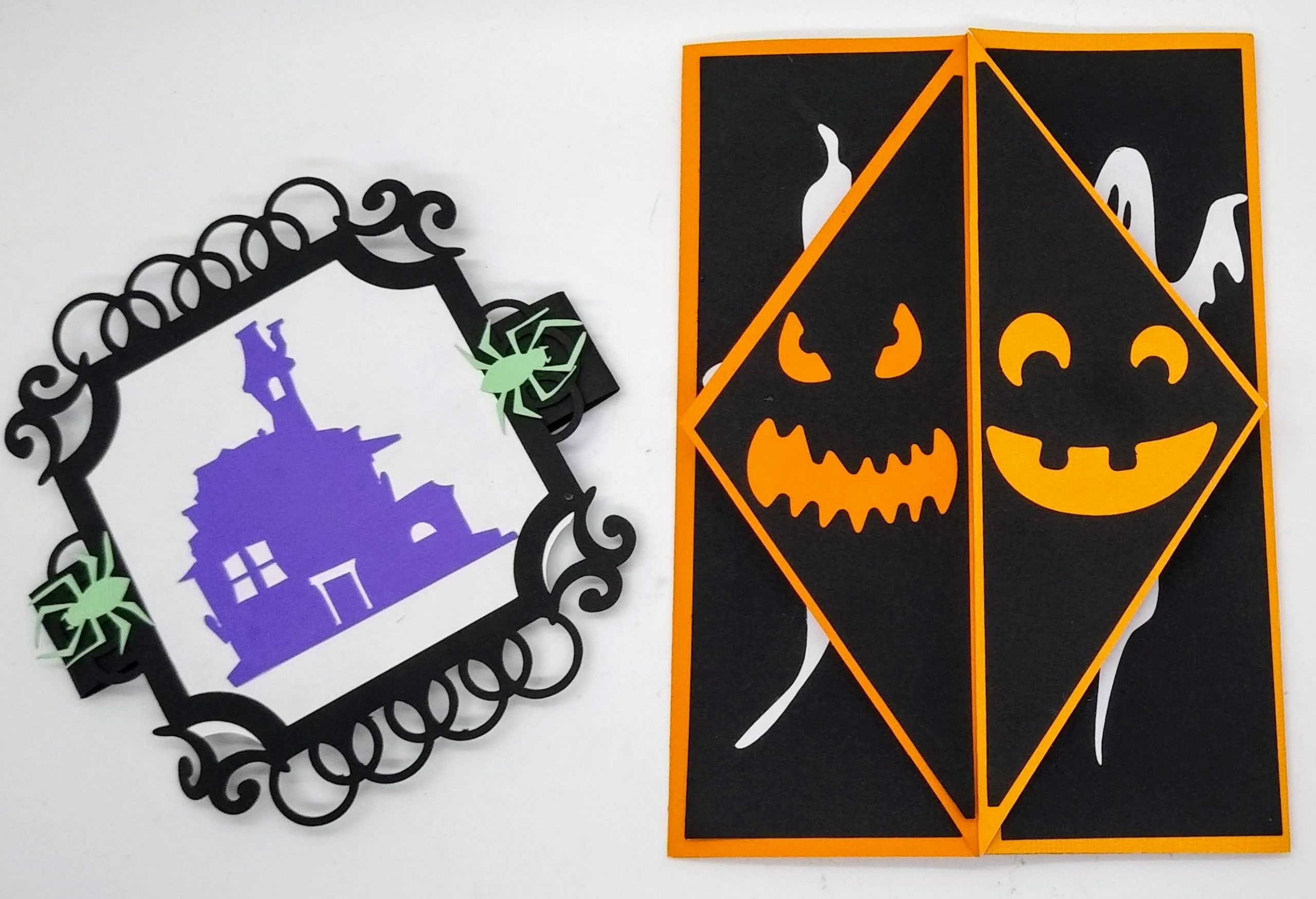 Great Halloween Gatefold Card and Card Band