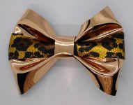 Hair Bows with Hobby Lobby Faux Suede Ribbon
