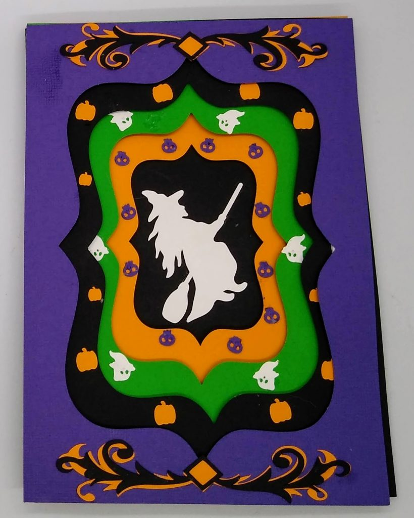 Halloween Something Wicked card front