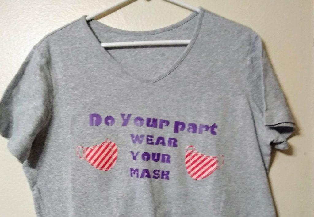 Masks save lives t shirt design