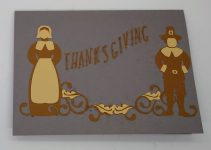 Simple Thanksgiving Card Front