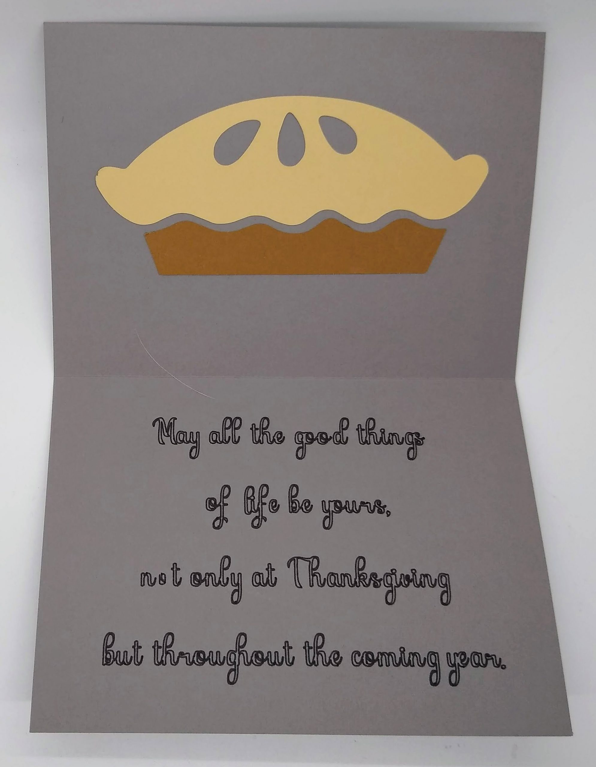 Make This Simple Thanksgiving Card
