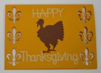 Another cut Out Thanksgiving card