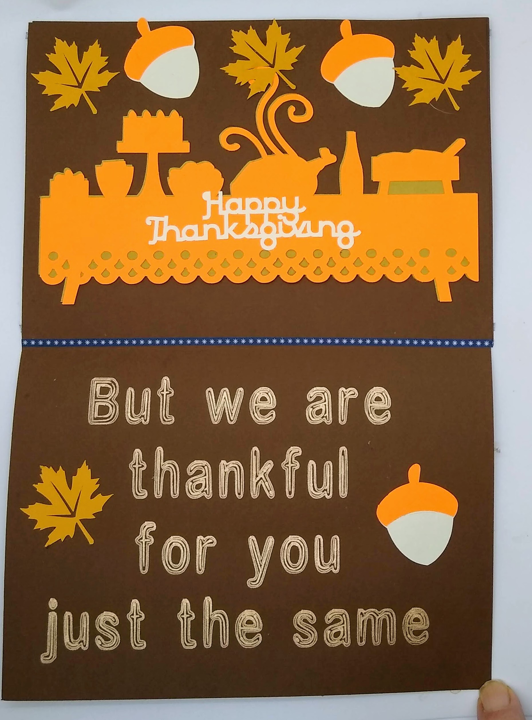 Cute Thanksgiving Gnome Card To Make