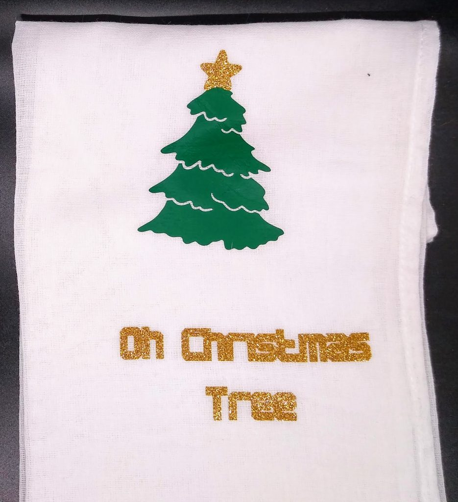 Christmas Tree Christmas Flour Sack Towels