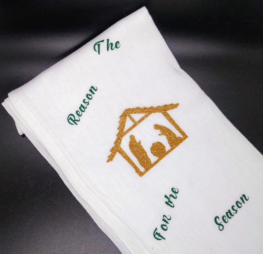 Nativity Christmas Flour Sack Towels
